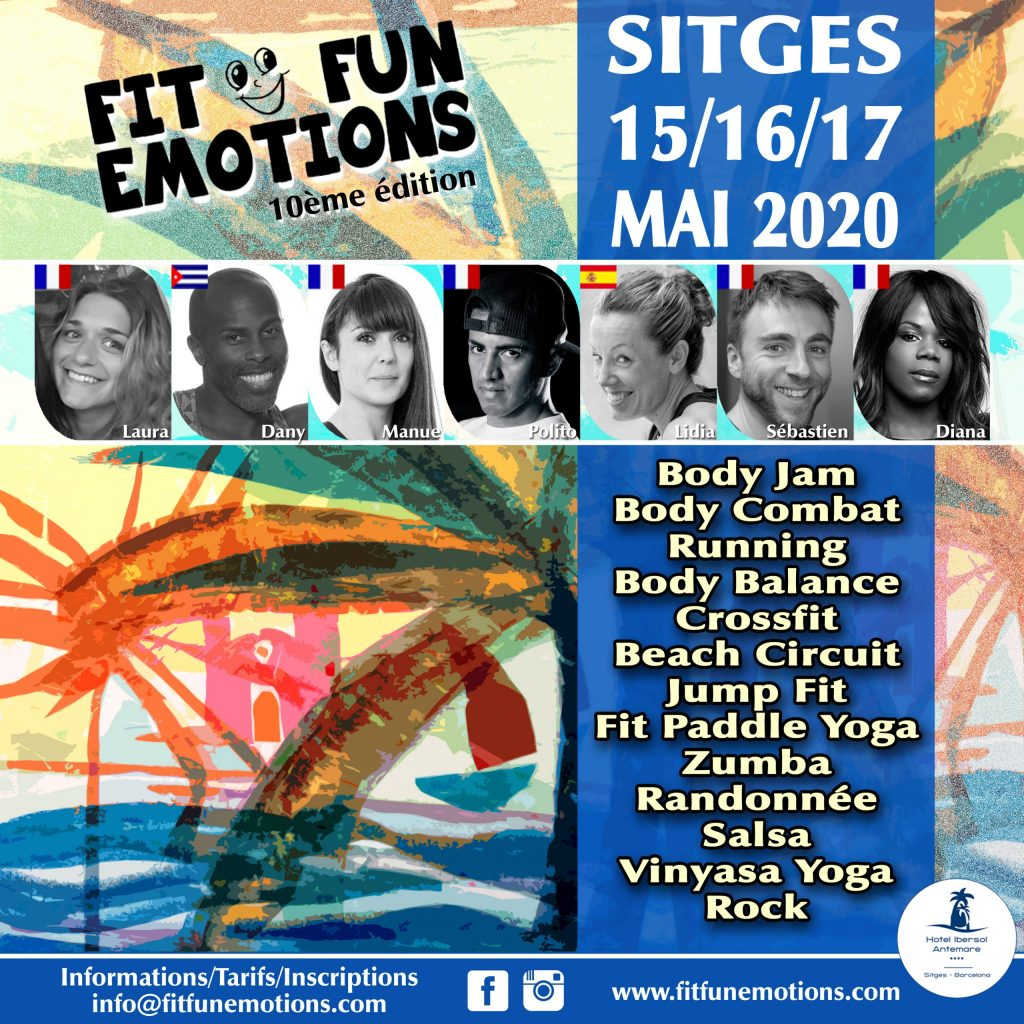 Fitness beach party 2020