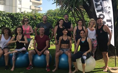Postural Ball Fit Fun Emotions groupe